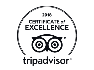 TripAdvisor 2018 Award of Excellence